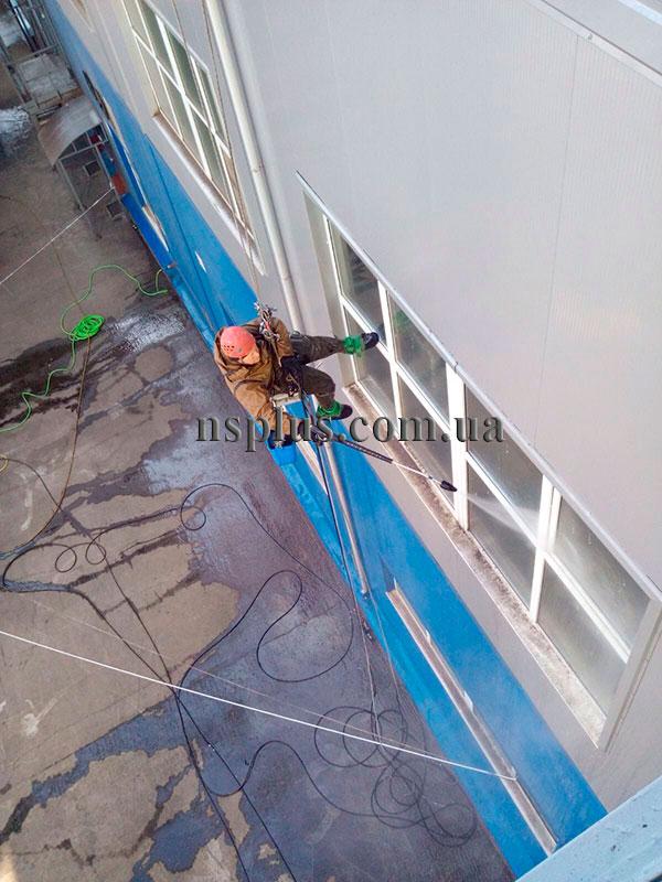 Миття фасадів МХП